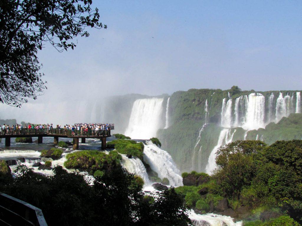 Cataratas do Iguaçu no Parque Nacional do Iguaçu. Foto: Rafaela Vendrametto Granzotti